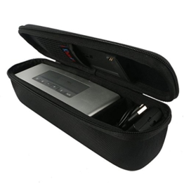 Khanka Hart EVA Reise tragen Fall Tasche Case Für Bose Soundlink Mini 2 / II Bluetooth Portabel Wireless Lautsprecher Speaker und Ladestation / Fits mit TPU/Silikon weich Abdeckung -