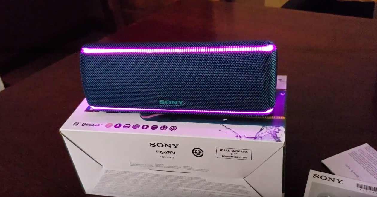 Sony SRS-XB 31 im Test: Kraftvoller Lautsprecher mit tollem Sound und netten Features