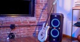 JBl Partybox 300 mit Gitarren Verstärker Funktion